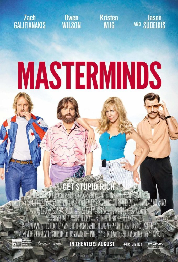 Masterminds (2016) 720p BluRay x264 700 MB