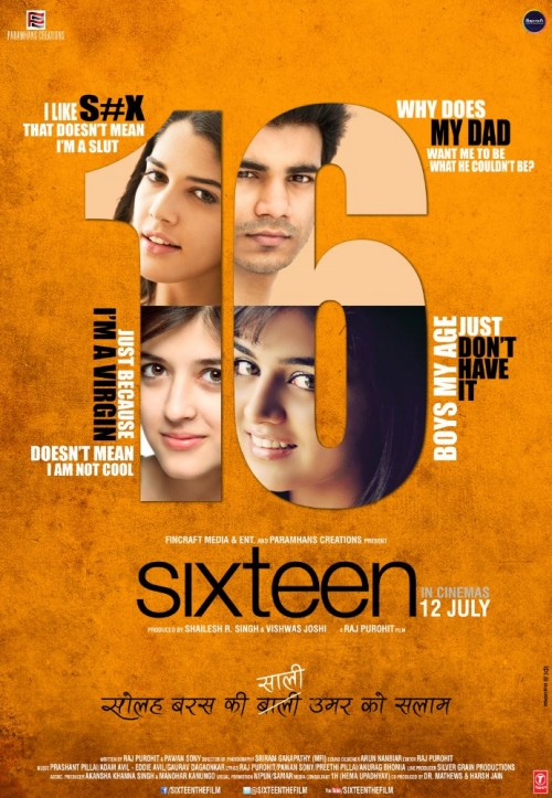 Sixteen (2013) Hindi 720p DvDRip x264 900MB