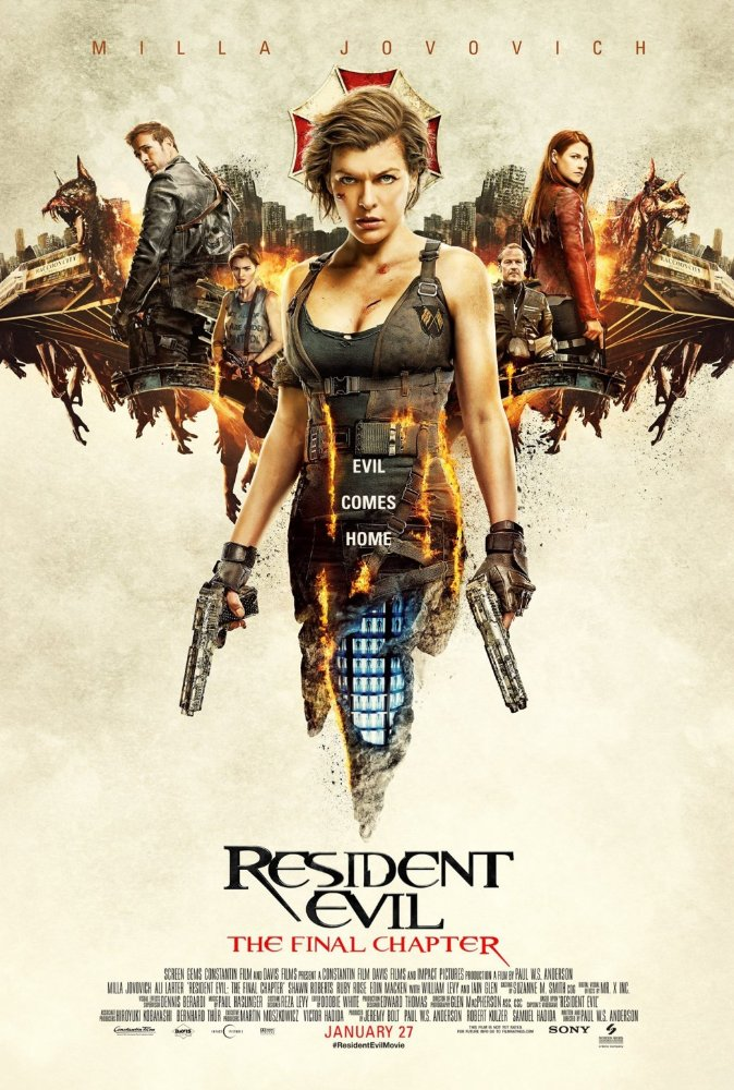Resident Evil-The Final Chapter (2017) 720p HDCAM 1.67 GB