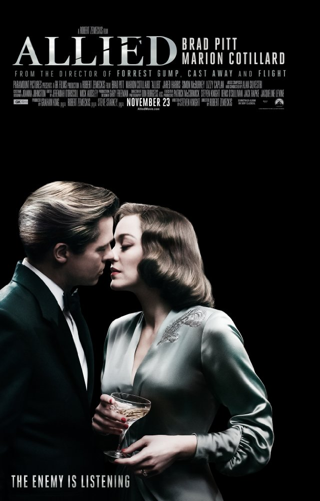 Allied (2016) 720p BluRay x264 915 MB