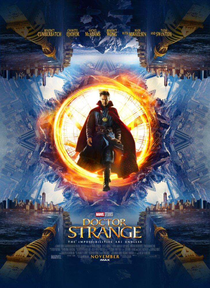 Doctor Strange 2016 Hindi Dubbed 720p BluRay x264 1.1GB