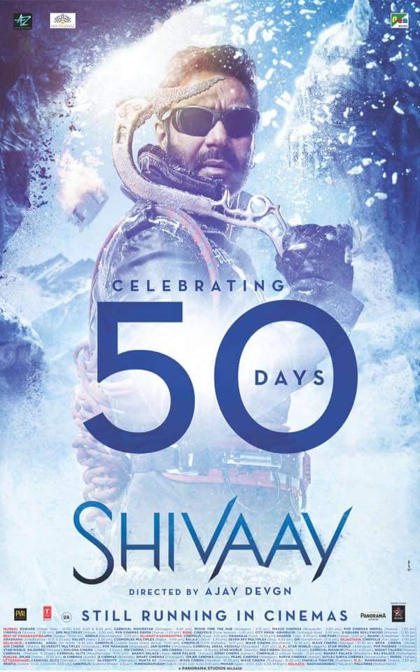 Shivaay 2016 Hindi 1080p HEVC HDRip x265 970MB
