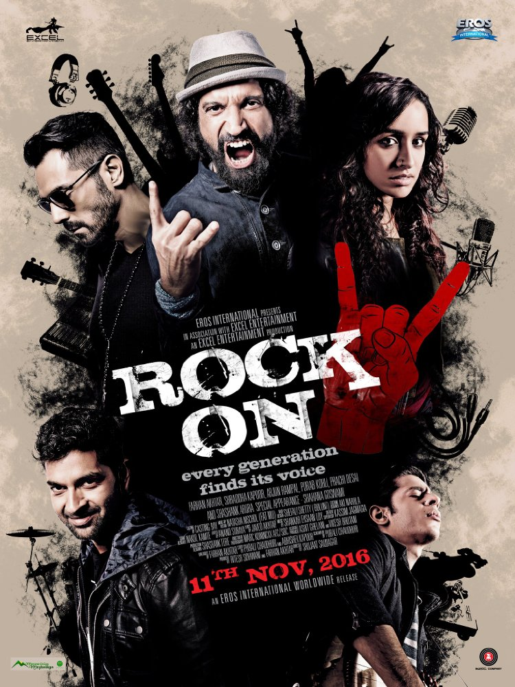Rock On 2 2016 720p Hevc Webrip X265 671 MB