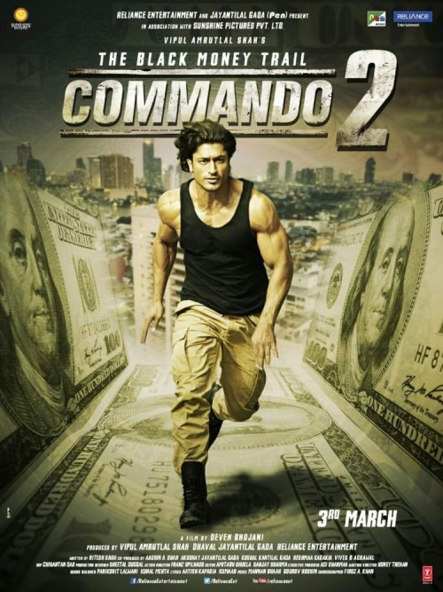 Commando 2 2017 Hindi 720p DvDRip X265