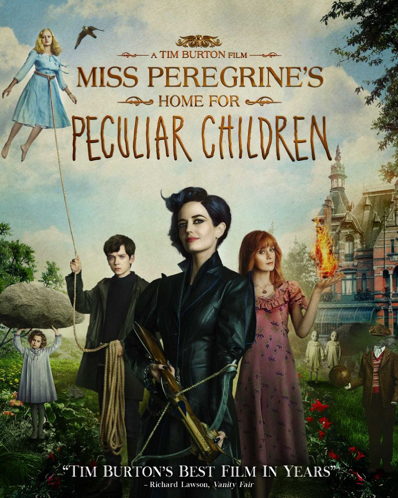 Miss Peregrine's Home for Peculiar Children 2016 720p BluRay x264 930 MB