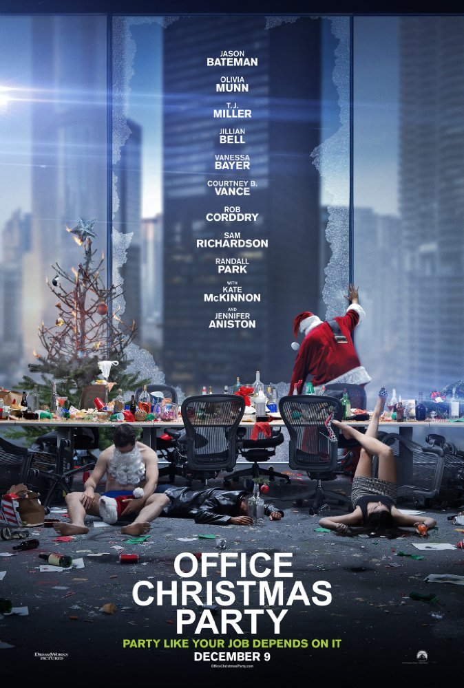 Office Christmas Party 2016 WEB-DL x264 918 MB