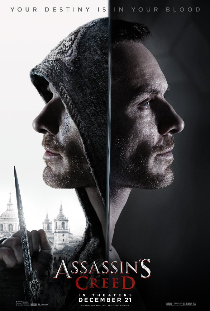 Assassins Creed 2016 Hindi Dubbed 720p BluRay x264