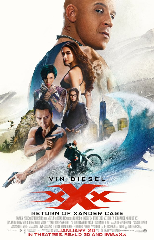 xXx: Return of Xander Cage 2017 720p BluRay x264