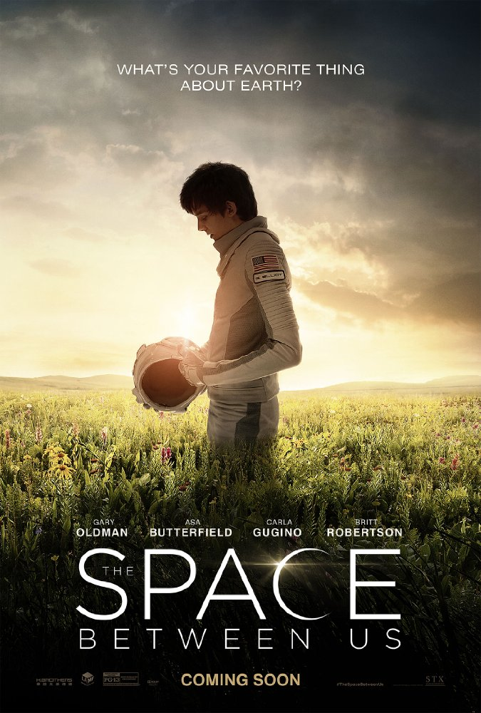 The Space Between Us 2017 HDCAM x264 698 MB