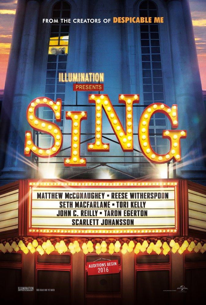 Sing 2016 Hindi Dubbed 720p BluRay x264