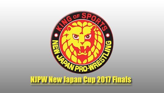 NJPW New Japan Cup 2017 Finals