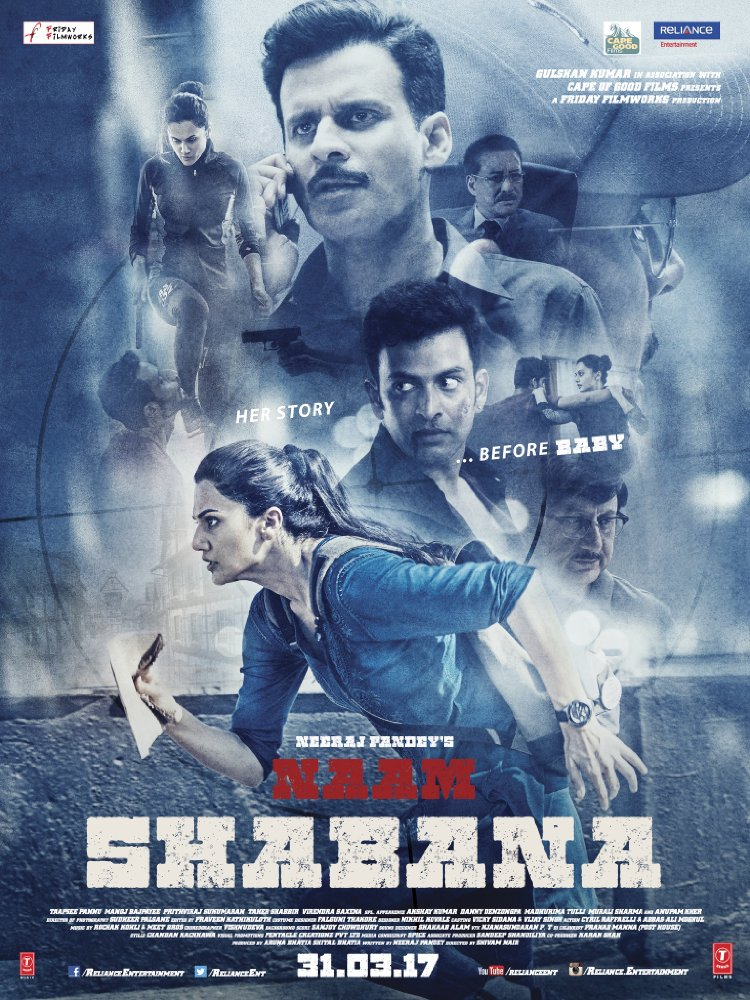 Naam Shabana 2017 Hindi 720p DvDRip X265