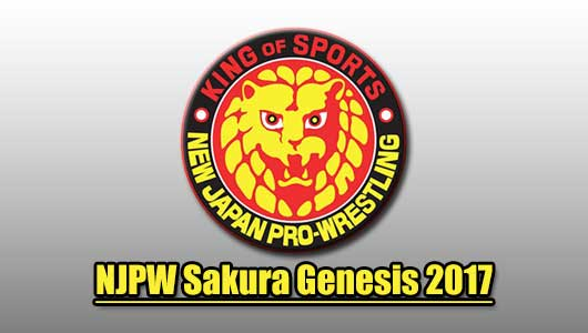 Watch njpw sakura genesis 2017