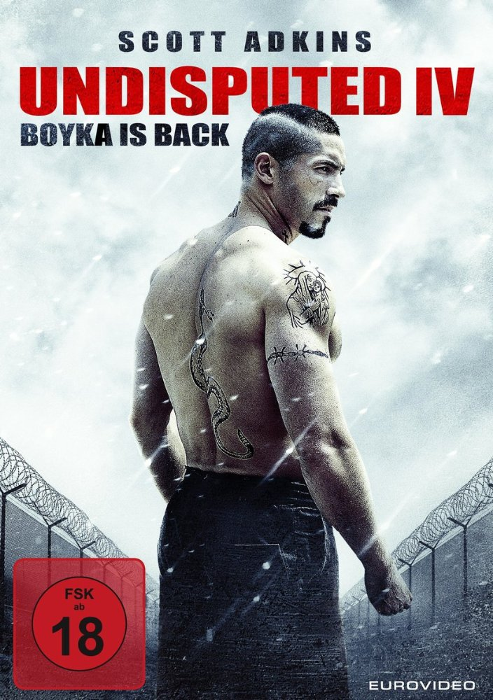 Boyka: Undisputed 2016 HDRip XViD 699 MB