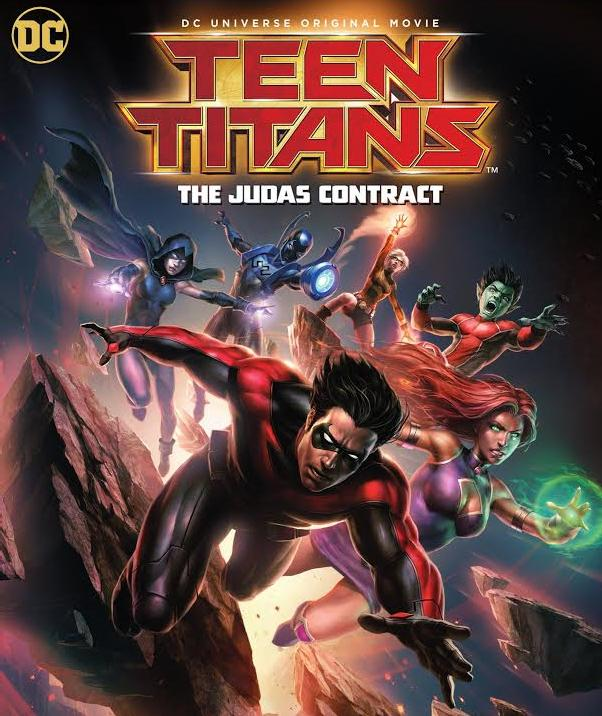 Teen Titans: The Judas Contract 2017 720p BluRay x264 624 MB