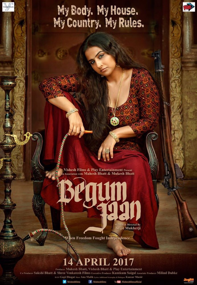 Begum Jaan 2017 Hindi DvDScr x264