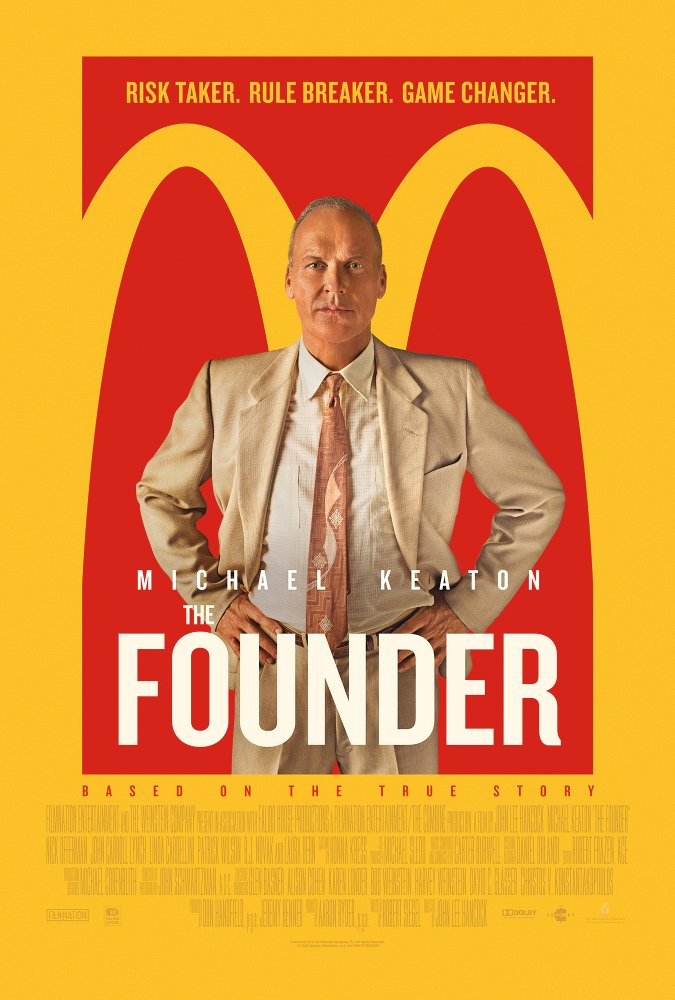 The Founder 2016 720p BluRay x264 844 MB