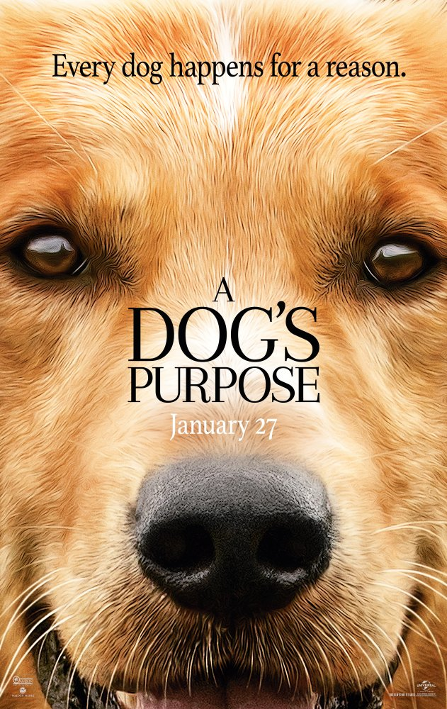 A Dog's Purpose 2017 720p BluRay x264 734 MB