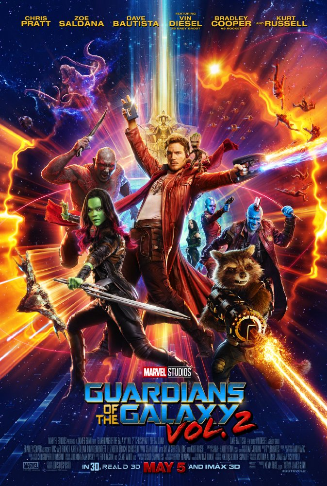 Guardians of the Galaxy Vol. 2 2017 Hindi Dubbed 720p BluRay x264