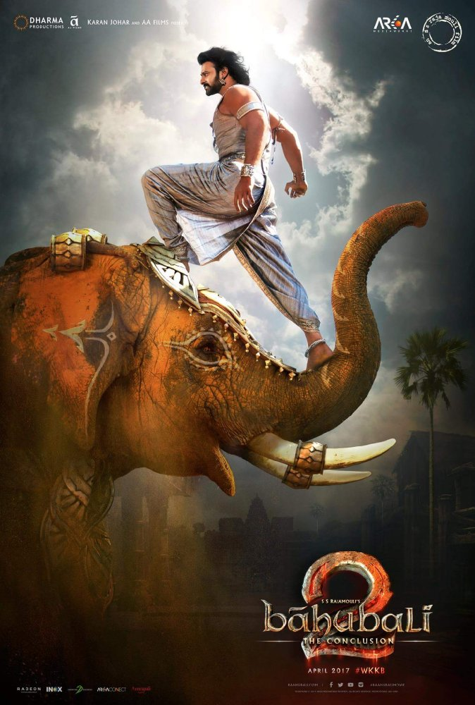 Baahubali 2: The Conclusion 2017 Hindi 720p DvDRip x265