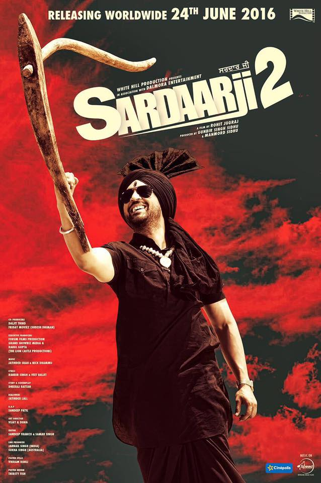Sardaarji 2 2016  Panjabi 1080p WEBHD x265