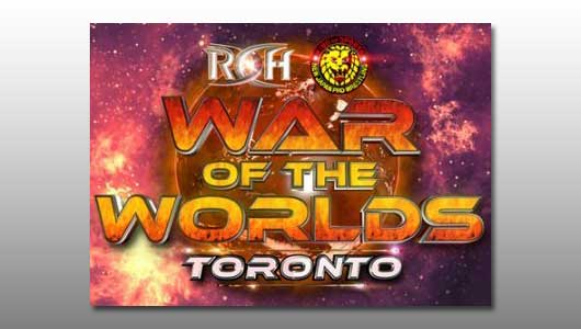 Watch ROH War Of The Worlds Toronto 2017