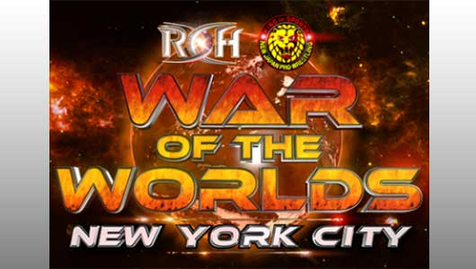 Watch ROH War of The Worlds NYC 2017