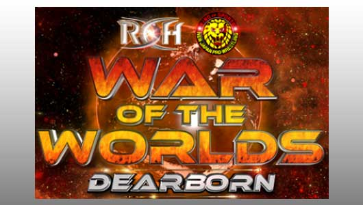 Watch ROH War of The Worlds Dearborn 2017