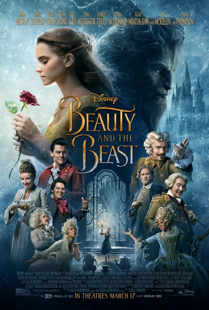 Beauty and the Beast 2017 720p BluRay x264 946 MB