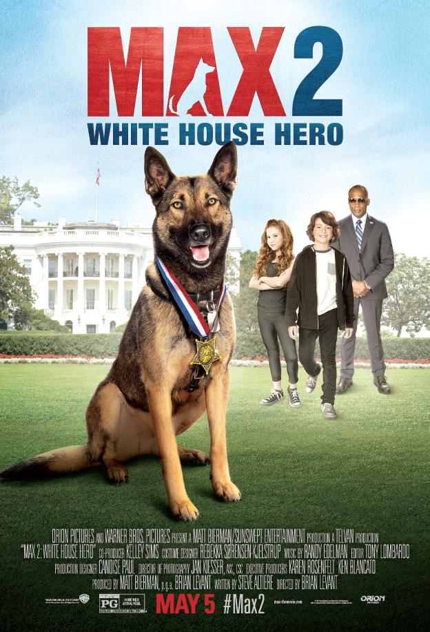 Max 2: White House Hero 2017 720p BluRay x264 626 MB