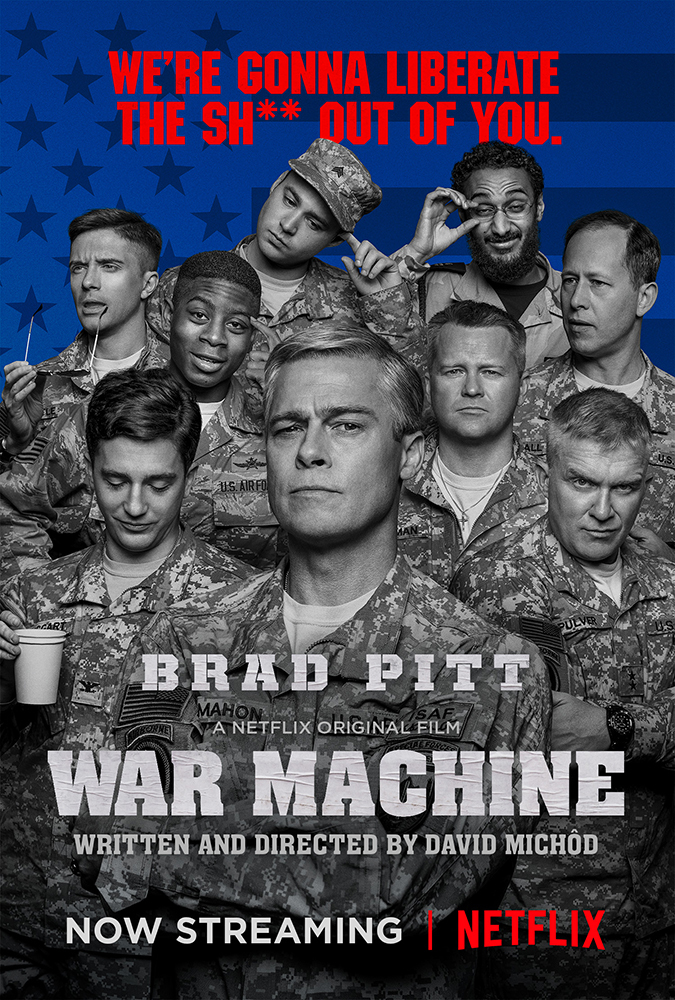 War Machine 2017 WEBRip x264 1.02 GB