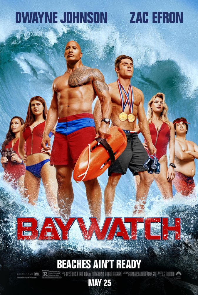 Baywatch 2017 Hindi Dubbed Pre-DvDRip x264 698 MB