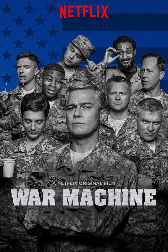 War Machine 2017 Hindi Dubbed 720p WEBRip x264