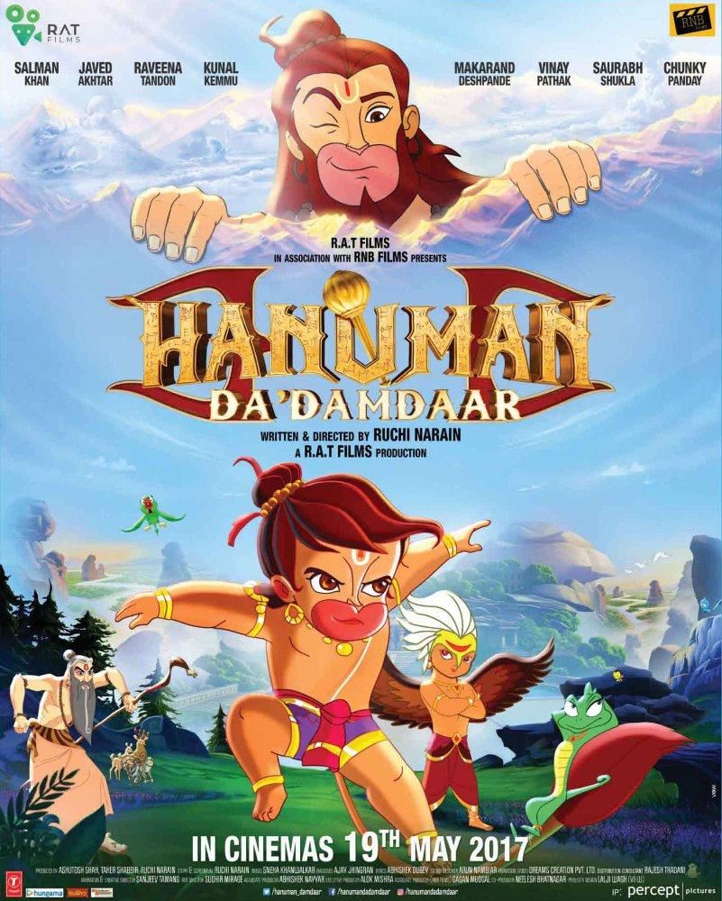 Hanuman Da' Damdaar 2017 Pre-DvDRip x264 698 MB