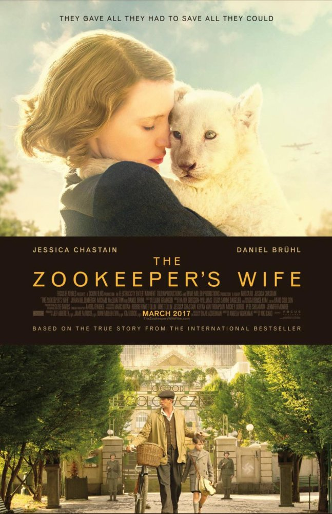 The Zookeeper's Wife 2017 720p BluRay x264 929 MB