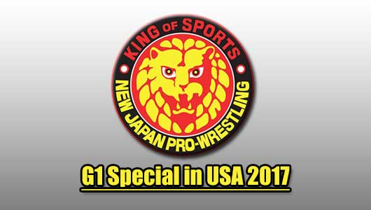 Watch NJPW G1 Special in USA 7/1/2017
