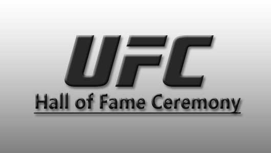 UFC Hall of Fame Ceremony