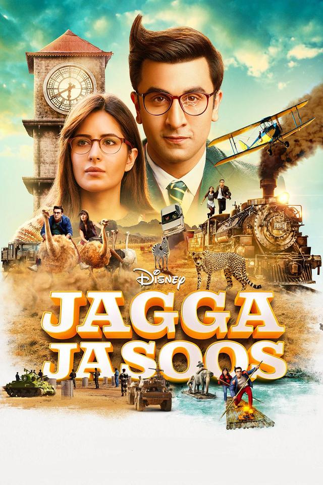 Jagga Jasoos 2017 Hindi DVDScr x264