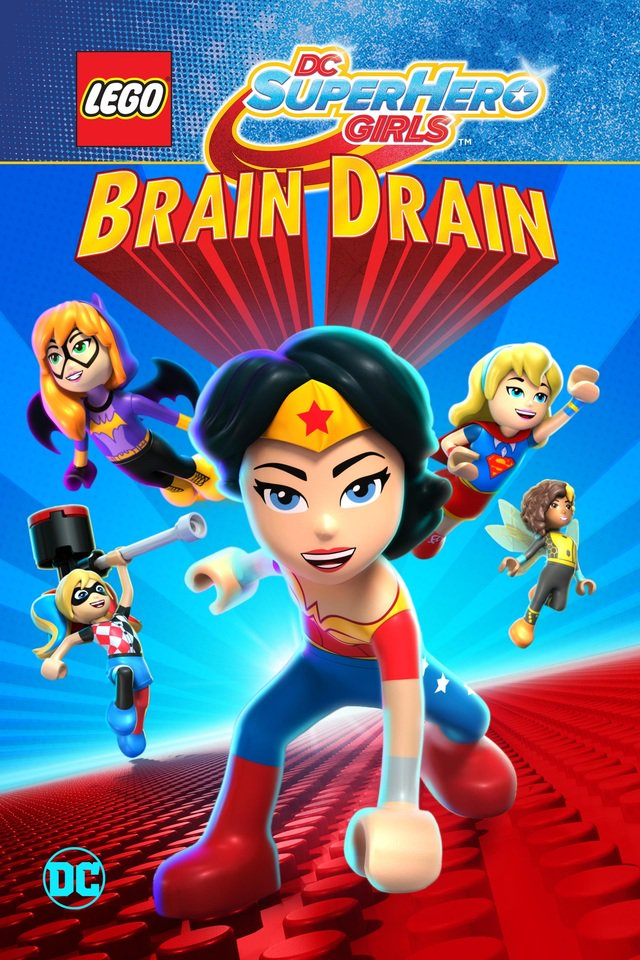 Lego DC Super Hero Girls: Brain Drain 2017 720p WEB-DL x264