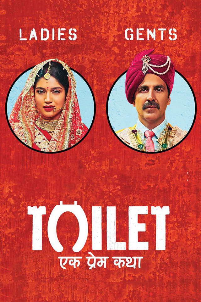 Toilet Ek Prem Katha 2017 Hindi (1CD) PreDvD x264
