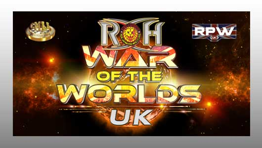 Watch ROH War of the Worlds UK Liverpool