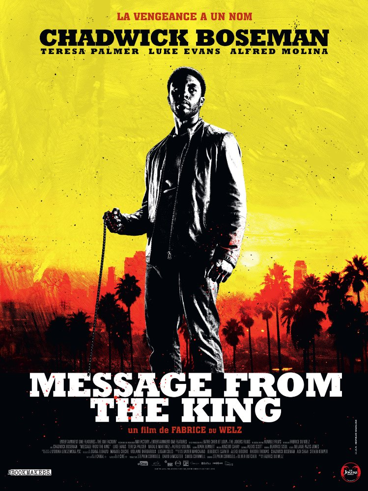 Message from the King 2016 WEBRip x264