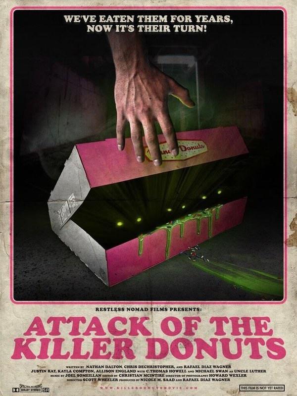 Attack of the Killer Donuts 2016 720p BluRay x264