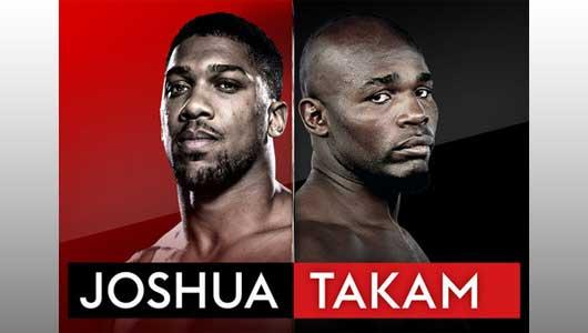 Watch Joshua vs Takam 10/28/2017