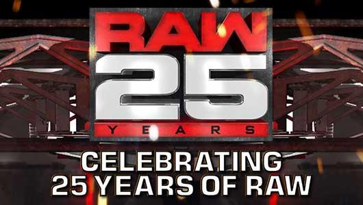 raw 25 celebrate