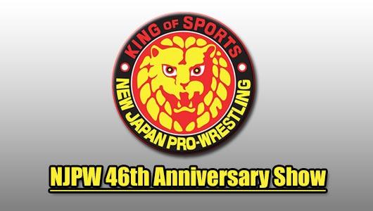 watch njpw 46th anniversary show 2018