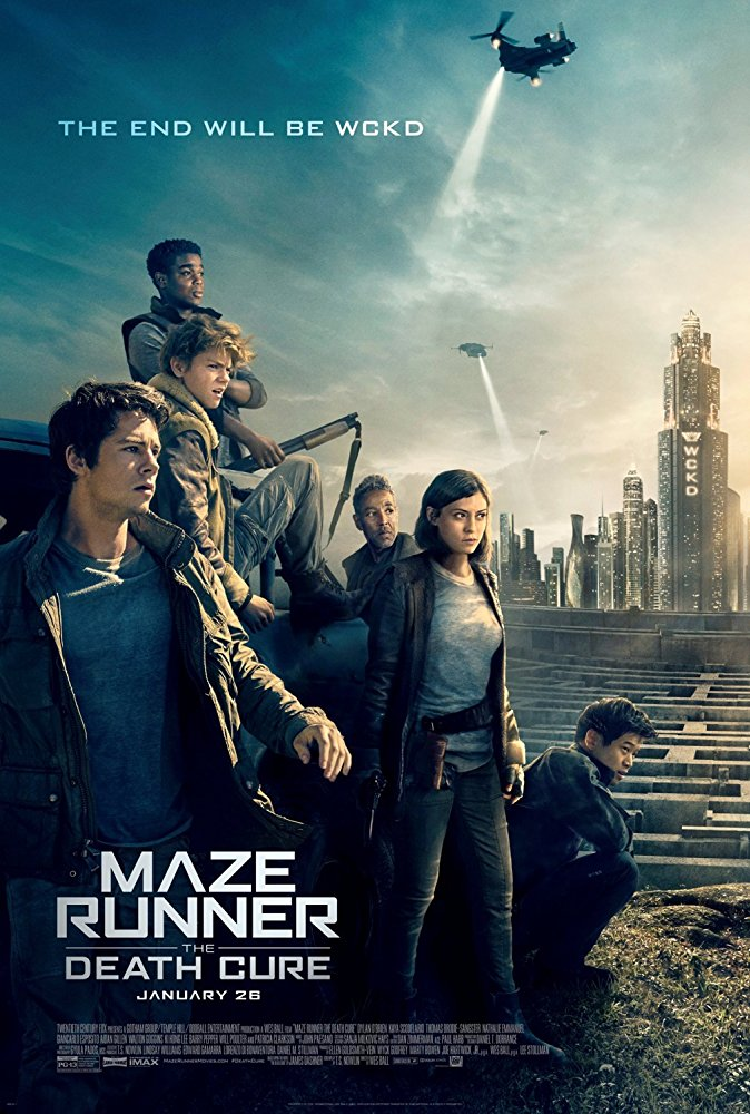 Maze Runner The Death Cure 2018 720p BluRay x264
