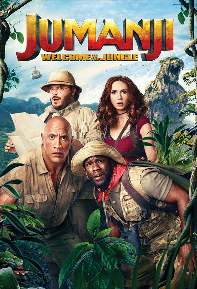 Jumanji: Welcome to the Jungle 2017 720p BluRay x264