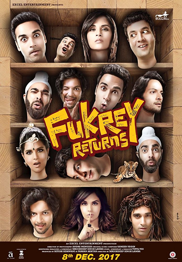 Fukrey Returns 2017 HQ-HDCam x264