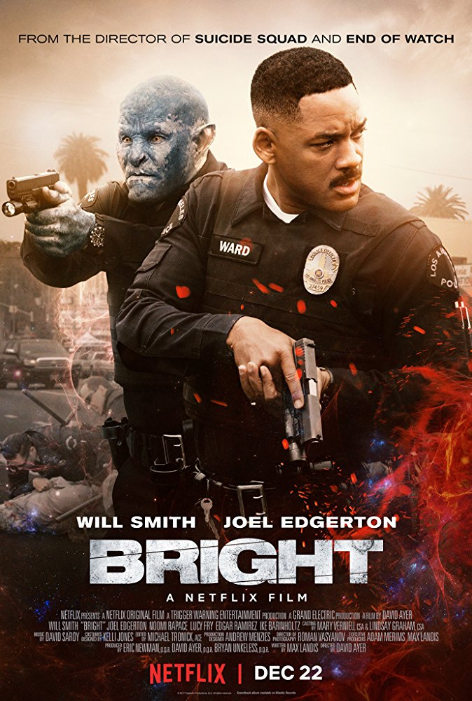 Bright 2017 720p BluRay x264